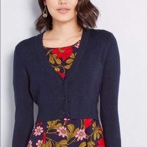 ModCloth Cardigan in Navy- L